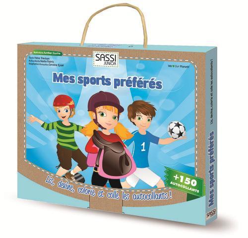 Ma Mallette De Jeux ; Mes Sports Preferes ; Coffret