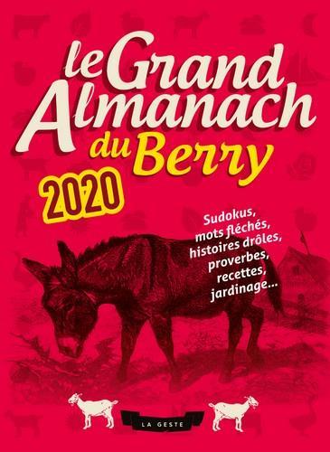 Le grand almanach du Berry 2020