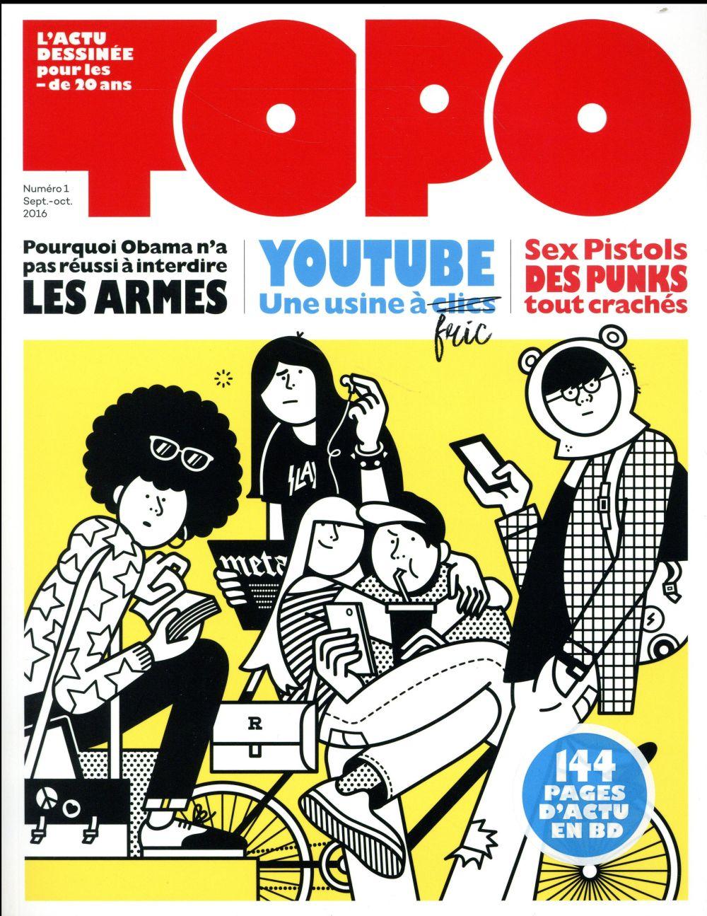 Revue topo n.1 ; sept-oct 2016