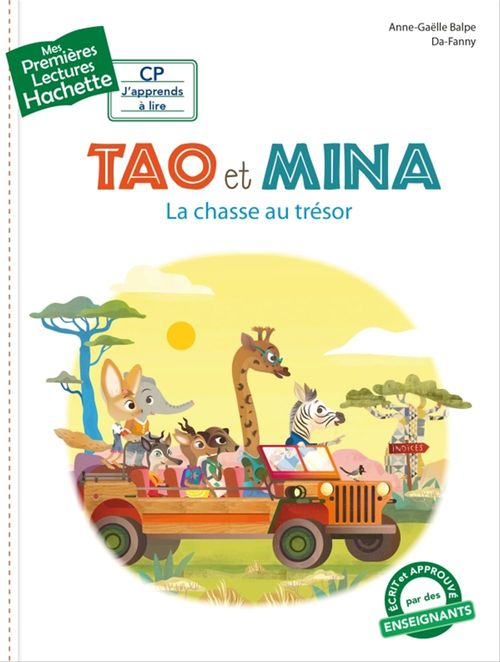 Mes premières lectures ; CP ; Tao et Mina