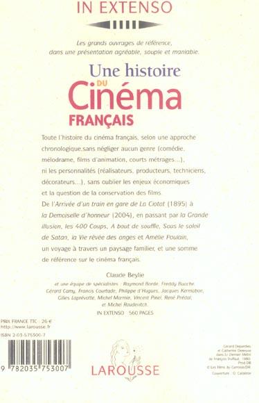 Une histoire du cinema francais