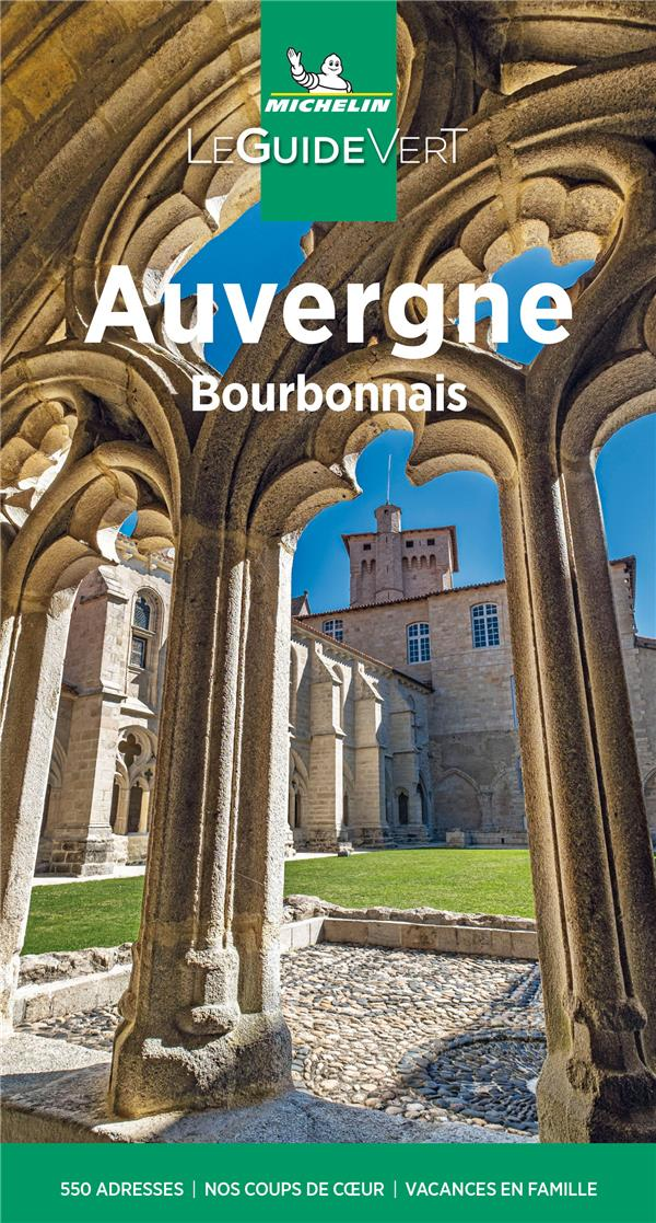 Le guide vert ; Auvergne (édition 2021)