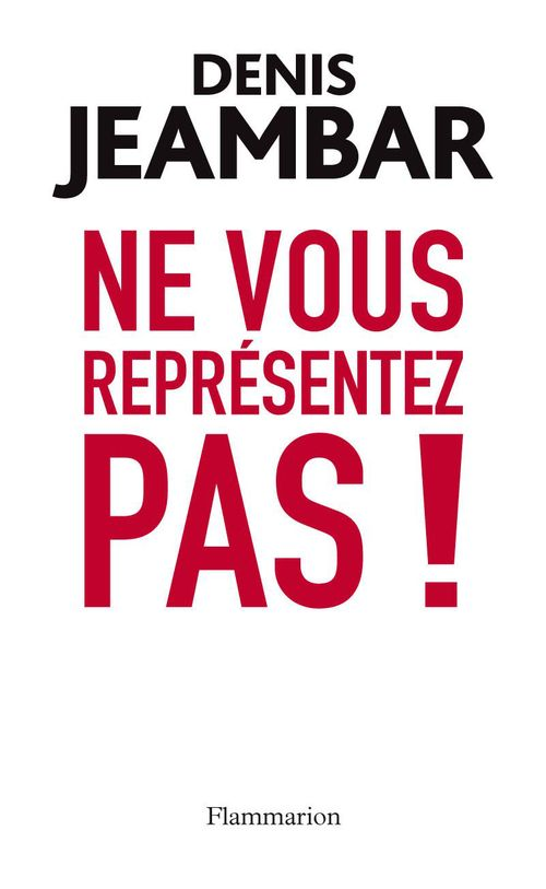 Ne vous représentez pas ! lettre ouverte à Nicolas Sarkozy