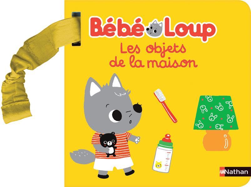 Bébé Loup ; livre poussette ; les objets de bébé Loup