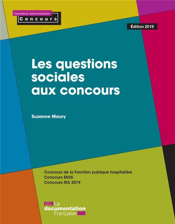 Les questions sociales aux concours (édition 2019)