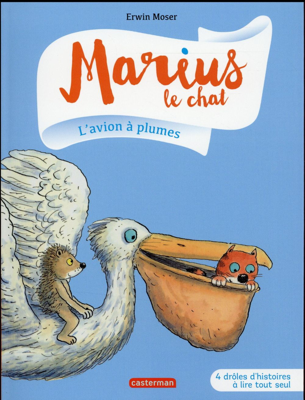 Marius le chat T.6 ; l'avion à plumes