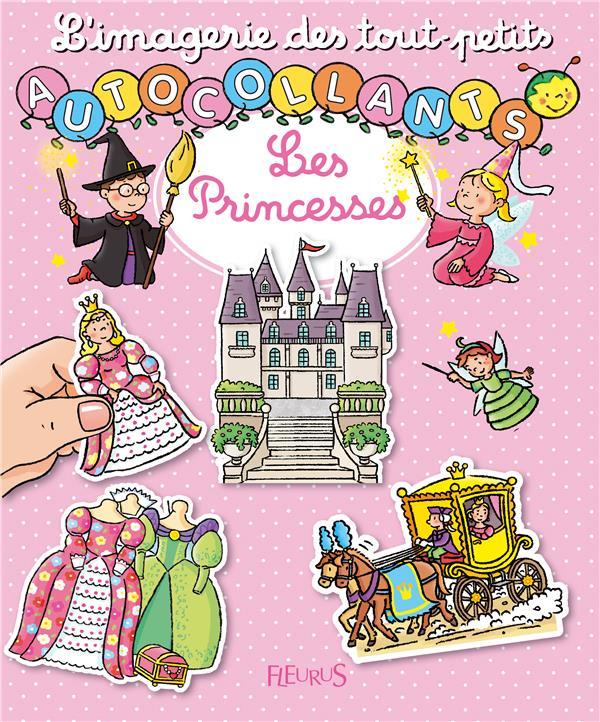 Les princesses ; autocollants