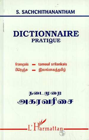 Dictionnaire pratique francais-tamoul srilankais