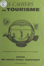 Vente Livre Numérique : Vaison-la-Romaine ou comment étudier le tourisme culturel  - Marc BOYER
