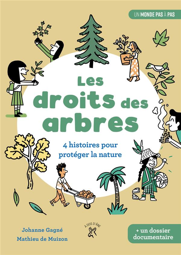 LES DROITS DES ARBRES  -  4 HISTOIRES POUR PROTEGER LA NATURE