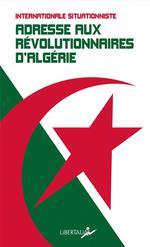 Couverture de Adresse Aux Revolutionnaires D Algerie - Et Autres Textes