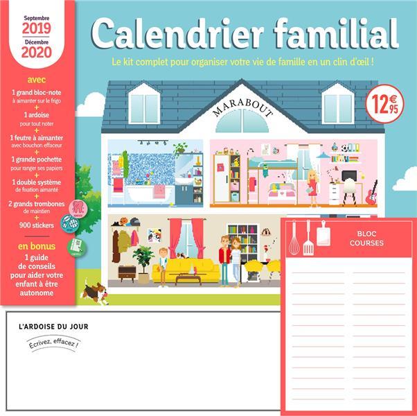 Calendrier familial 2019-2020