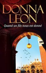 Vente Livre Numérique : Quand un fils nous est donné  - Donna Leon