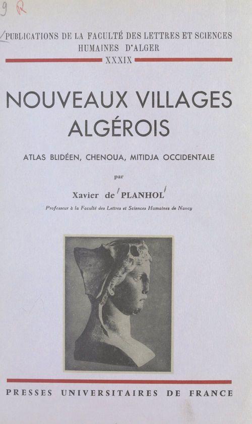 Nouveaux villages algérois