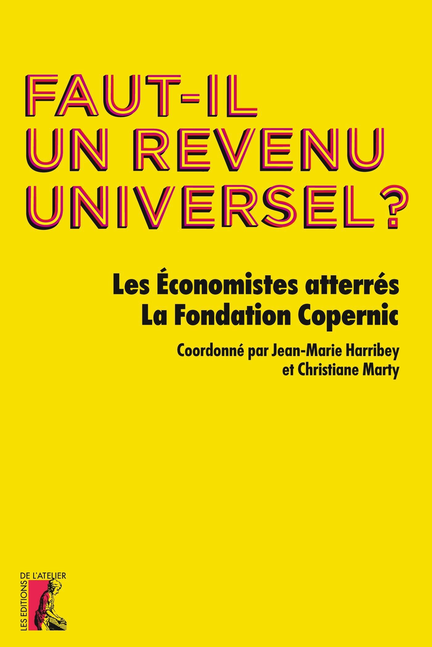 Vente EBooks : Faut-il un revenu universel ?  - Jean-Marie Harribey  - Christiane Marty