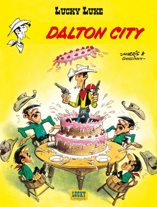 Lucky Luke T.34 ; Dalton city