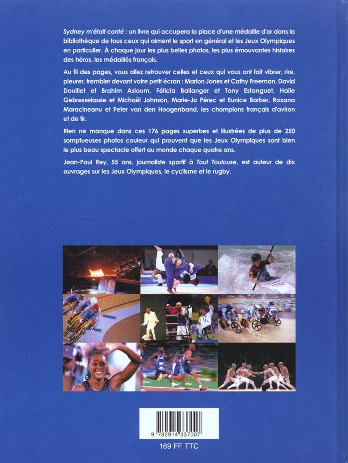 Sydney m'etait conte ; jeux olympiques 2000
