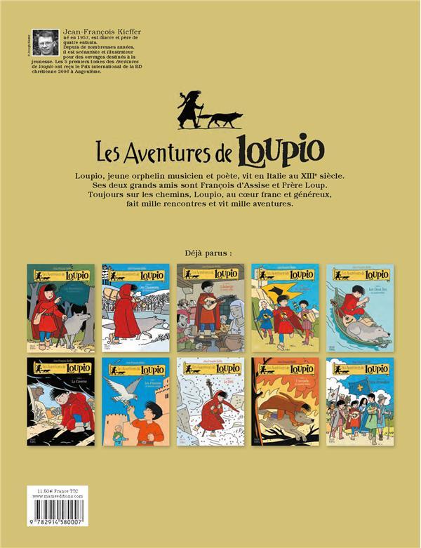 Les aventures de Loupio T.1 ; la rencontre et autres récits