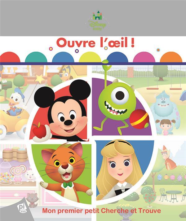 Mon premier petit cherche et trouve ; Disney Baby ; ouvre l'oeil !