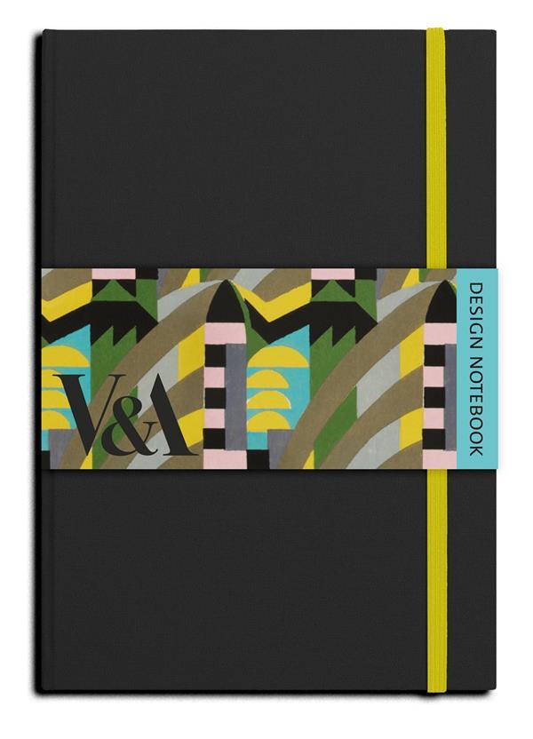 V&a design notebook cole black