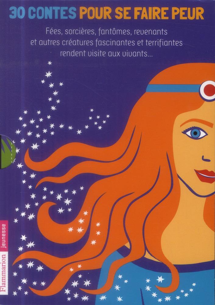 15 contes et légendes des fées, 15 récits de sorcières et de revenants ; coffret
