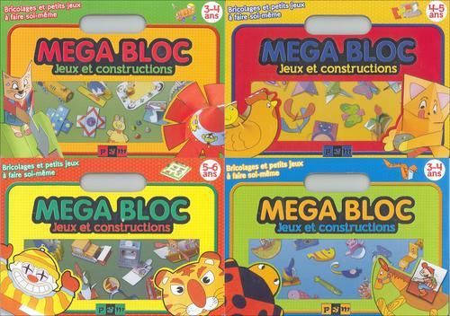 Mega bloc ; jeux et constructions