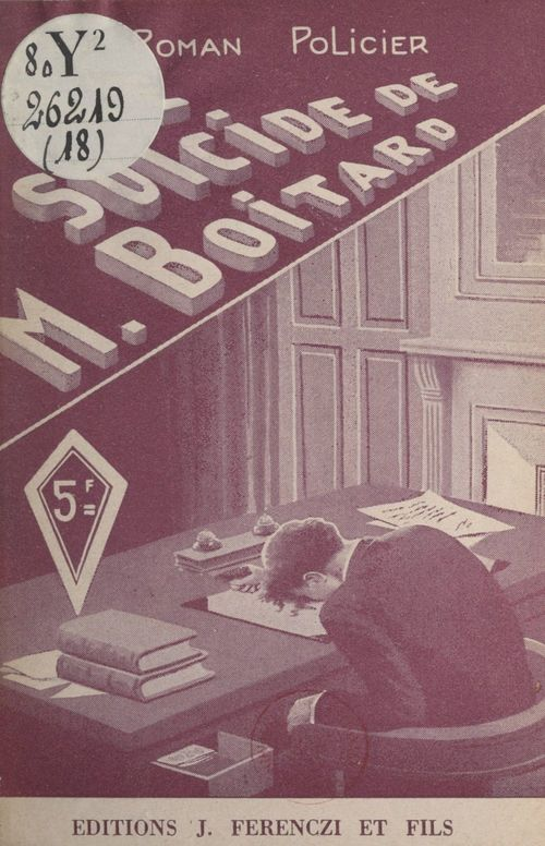 Le suicide de M. Boitard
