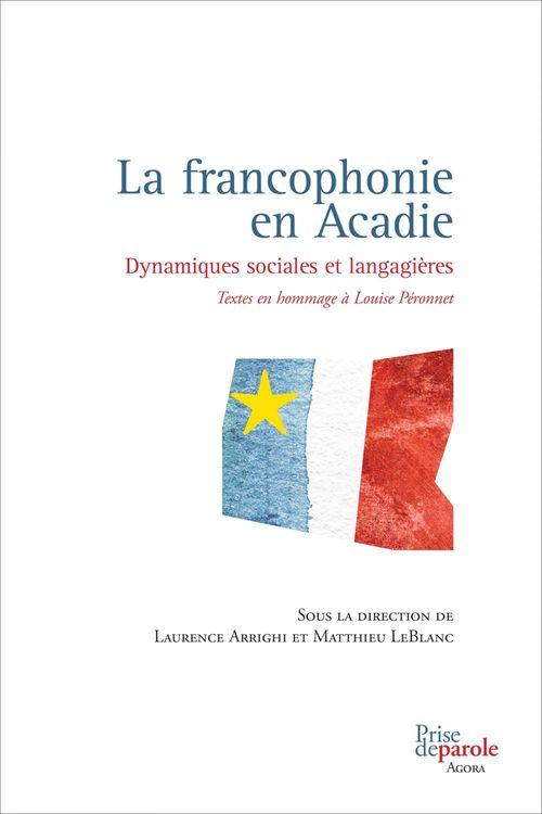 La francophonie en acadie