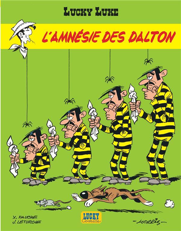 Lucky Luke T.60 ; L'Amnesie Des Dalton