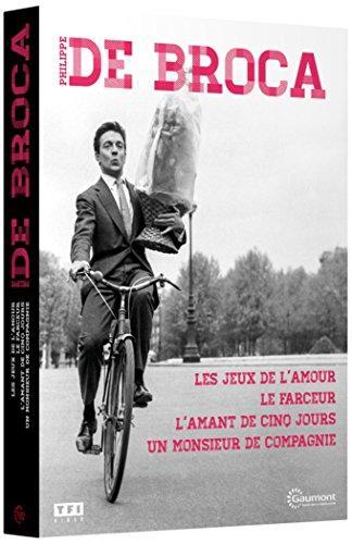 Philippe de Broca: Les jeux de l'amour + Le farceur + L'amant de cinq jours + Un Monsieur de compagnie