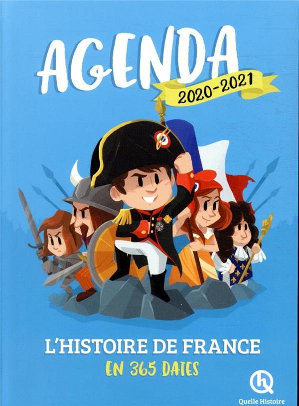 Agenda l'histoire de France en 365 dates (édition 2020/2021)