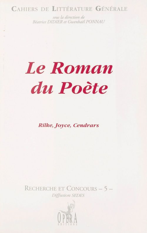 Le roman du poete