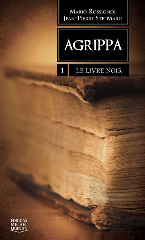 Agrippa t.1 ; le livre noir