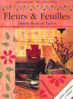 Couverture de Pochoirs decoratifs, fleurs et feuilles