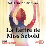 Vente AudioBook : La Lettre de Miss Sebold  - Tatiana de Rosnay