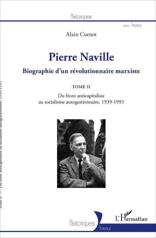 Pierre Naville  - Alain Cuenot