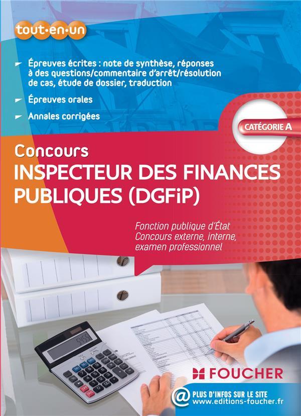 inspecteur des finances publiques (dgfip) ; tout-en-un