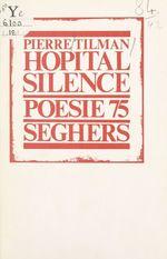 Vente Livre Numérique : Hôpital silence  - Pierre Tilman