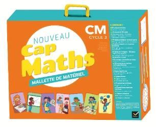 Cap maths ; CM1, CM2 ; mallette de matériel pour la classe (édition 2020)