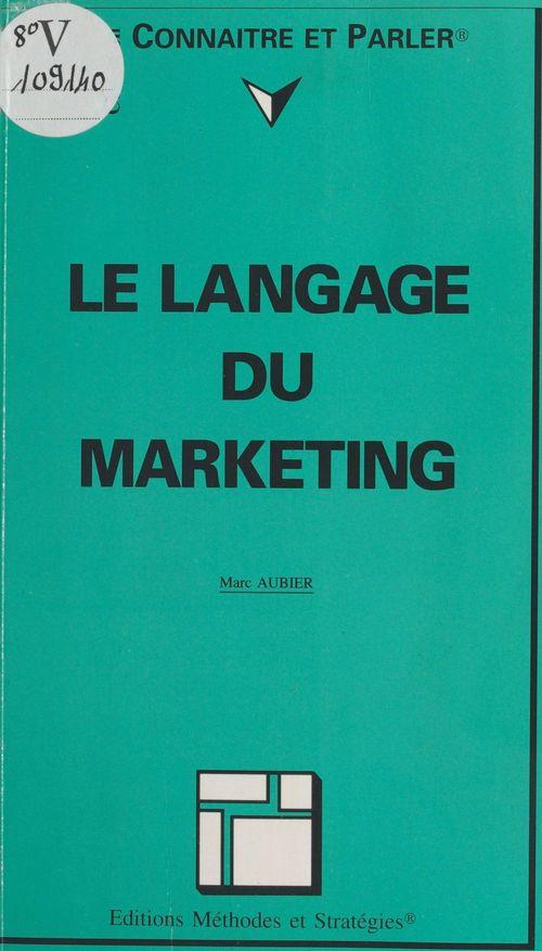 Le langage du marketing