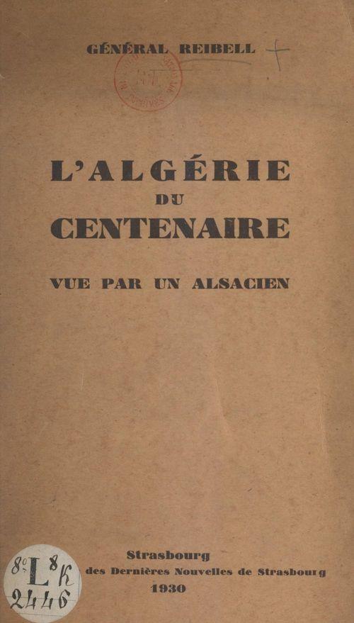 L'Algérie du centenaire