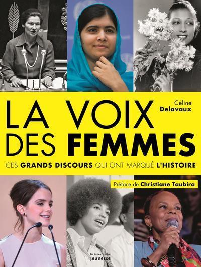 La voix des femmes ; ces grands discours qui ont marqué l'histoire