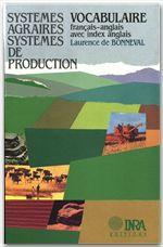 Systèmes agraires, systèmes de production  - Laurence de Bonneval - De Bonneval
