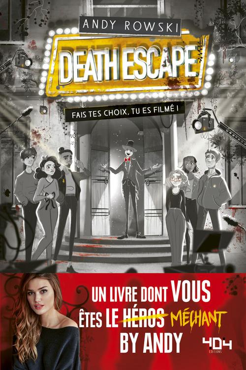 Vente Livre Numérique : Le livre dont vous êtes le méchant - Death Escape : fais tes choix, tu es filmé !  - Andy ROWSKI