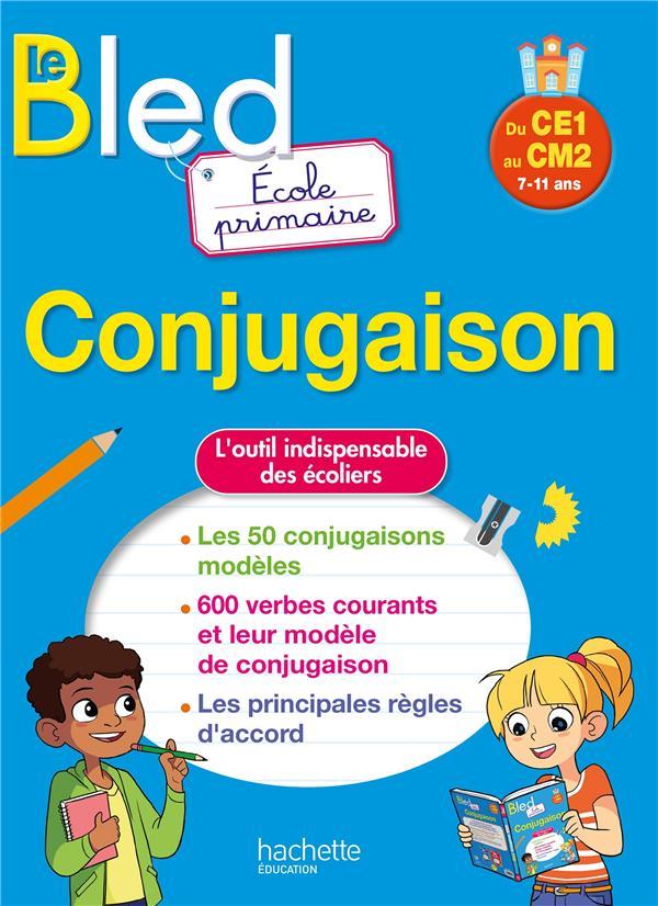 BLED ; conjugaison ; école primaire ; du CE1 au CM2