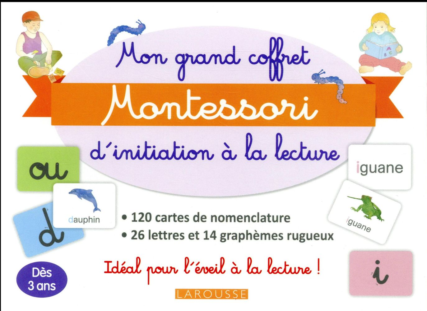 Mon Grand Coffret Montessori D'Initiatation A La Lecture