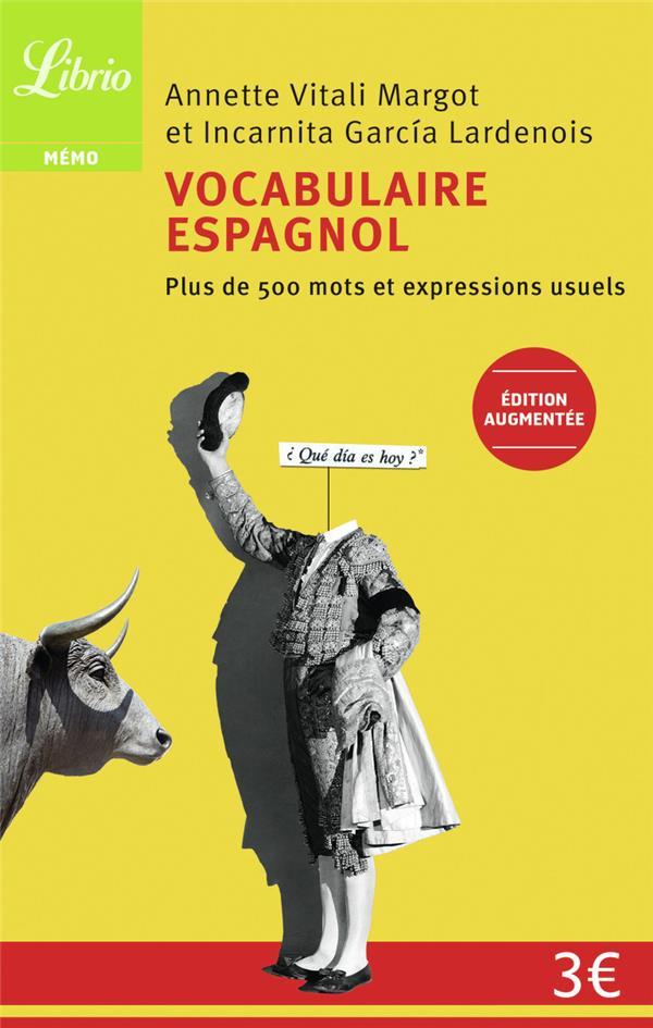 Vocabulaire espagnol (édition 2011)