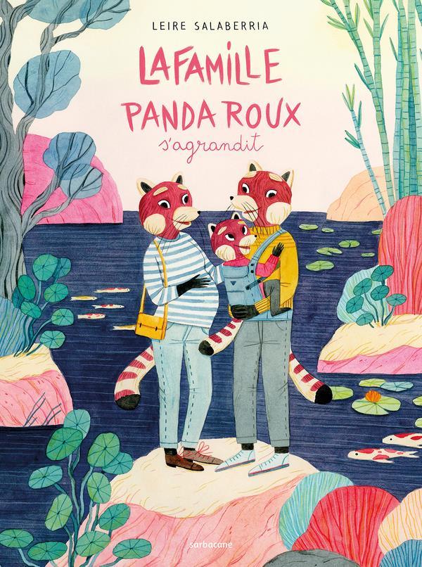 La famille Panda Roux s'agrandit