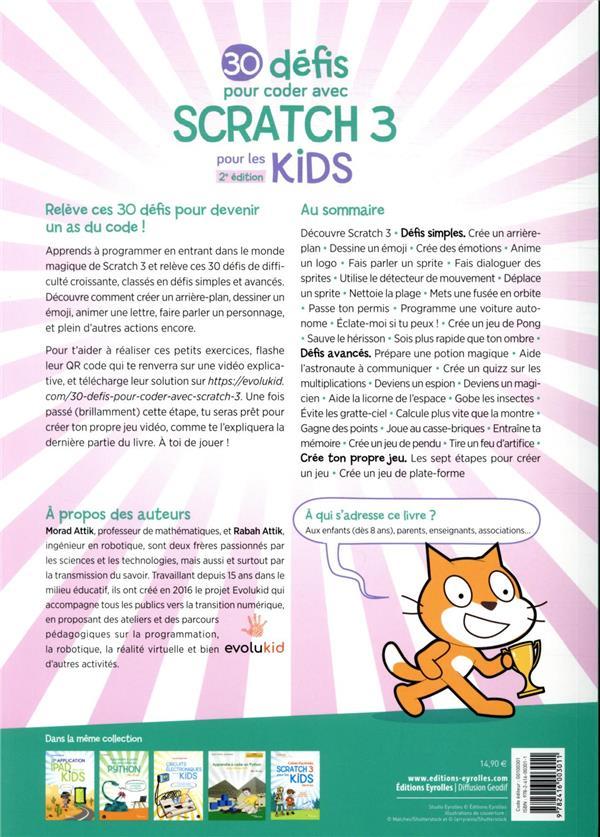 30 défis pour coder avec scratch 3 (2e édition)