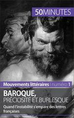 Vente Livre Numérique : Baroque, préciosité et burlesque  - Fabienne Gheysens